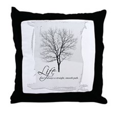 Tree and Life Throw Pillow