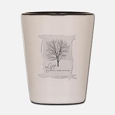 Tree and Life Shot Glass