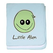 Little Alien baby blanket