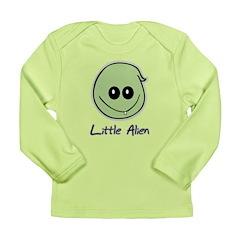 Little Alien Long Sleeve Infant T-Shirt