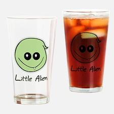 Little Alien Drinking Glass