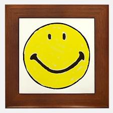 Original Happy Face Framed Tile