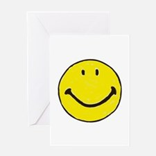 Original Happy Face Greeting Card