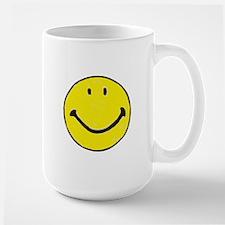 Original Happy Face Large Mug