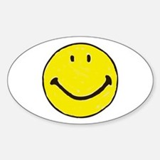Original Happy Face Decal