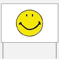 Original Happy Face Yard Sign