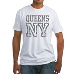Queens NY Fitted T-Shirt