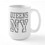 Queens NY Large Mug
