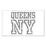 Queens NY Sticker (Rectangle)