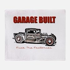 Garage Built Throw Blanket