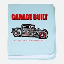 Garage Built baby blanket