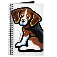 Cute Tri-color Beagle Journal