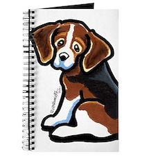 Cute Tri-color Beagle Journal