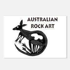Australian Rock Art Postcards (Package of 8)