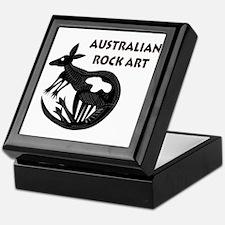 Australian Rock Art Keepsake Box