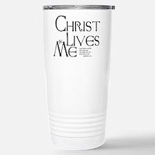 Christ Lives in Me Travel Mug