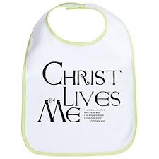 Christ Lives in Me Bib
