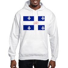 j'adore québec! Hoodie Sweatshirt