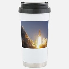 Space Shuttle Aloft Stainless Steel Travel Mug