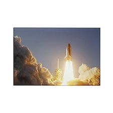Space Shuttle Aloft Rectangle Magnet