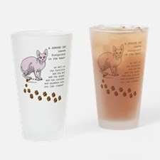 Sphynx Drinking Glass