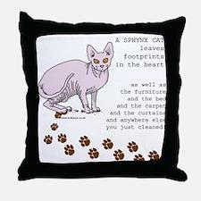 Sphynx Throw Pillow