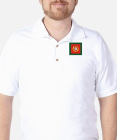 Portugal Naval Jack Golf Shirt