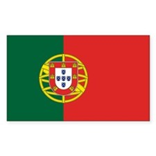 Portugal Flag Rectangle Decal