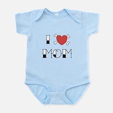 I (Love) heart MOM Infant Bodysuit