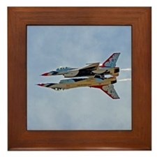 Thunderbirds 5 and 6 Framed Tile