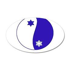 Asian Bubbeleh 22x14 Oval Wall Peel