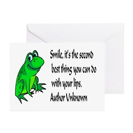 Smile Greeting Cards (Pk of 10)