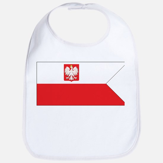 Poland Naval Ensign Bib