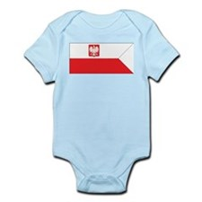 Poland Naval Ensign Infant Creeper