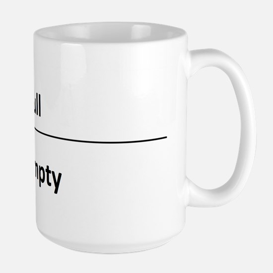 """It's your perspective"" Large Mug"