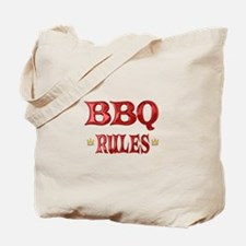 BBQ Rules Tote Bag