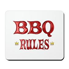 BBQ Rules Mousepad