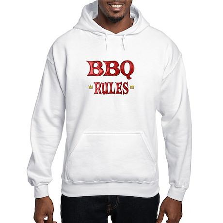 BBQ Rules Hooded Sweatshirt