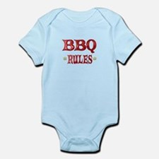 BBQ Rules Infant Bodysuit
