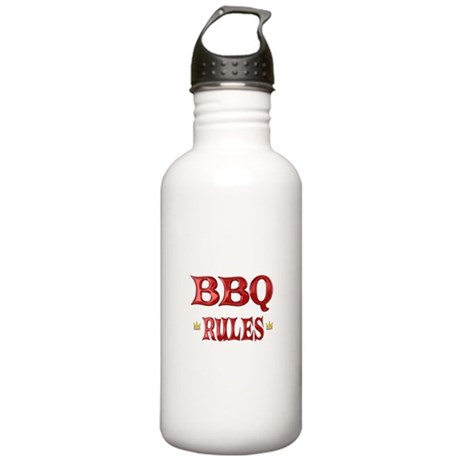 BBQ Rules Stainless Water Bottle 1.0L