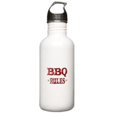 BBQ Rules Water Bottle