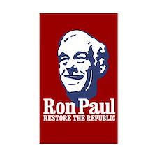 Restore the Republic Sticker (Rectangle)