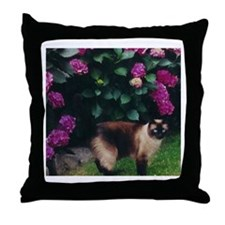 Cute Cat Throw Pillow