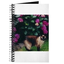 Cool Siamese cat Journal