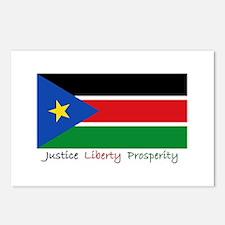 Cute South sudan Postcards (Package of 8)