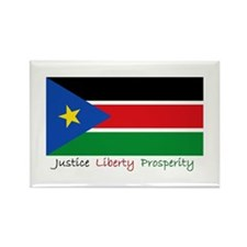 Cute South sudan Rectangle Magnet (100 pack)