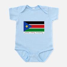 South Sudan Body Suit