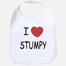 I heart stumpy Bib
