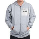 Marriage is so Gay Zip Hoodie