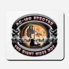 USAF AC-130 Spectre The Night Mousepad